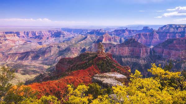 Grand Arizona Poster featuring the photograph Grand Arizona by Chad Dutson