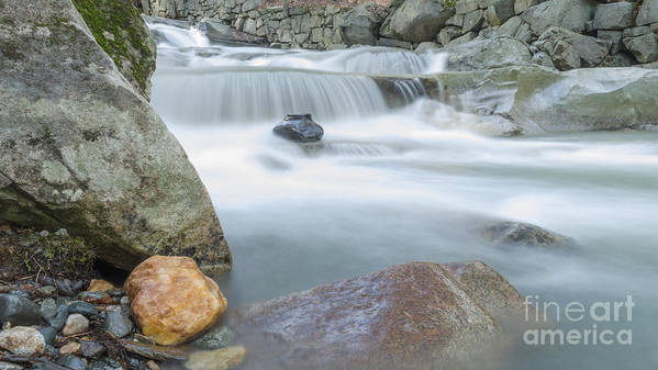 New Hampshire Poster featuring the photograph Granite Pool by Along The Trail
