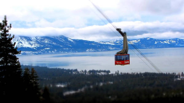 Heavenly Ski Resort Poster featuring the photograph Heavenly Tram South Lake Tahoe by Brad Scott