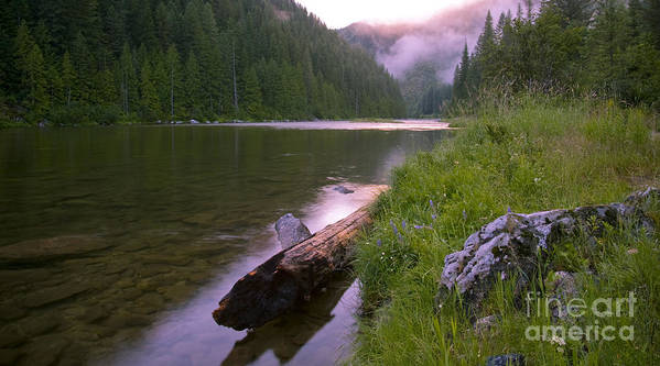 Kelly Creek Poster featuring the photograph North Fork Of The Clearwater by Idaho Scenic Images Linda Lantzy
