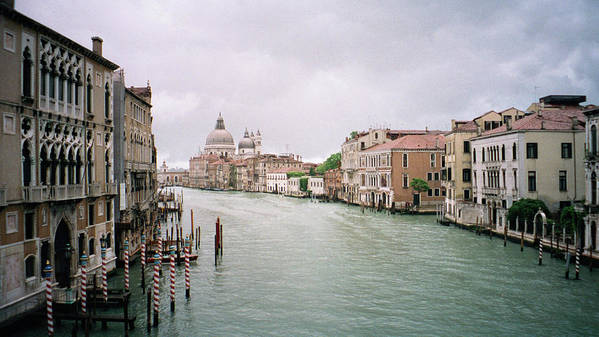 Europe Poster featuring the photograph Venice Grand Canal by Dick Goodman