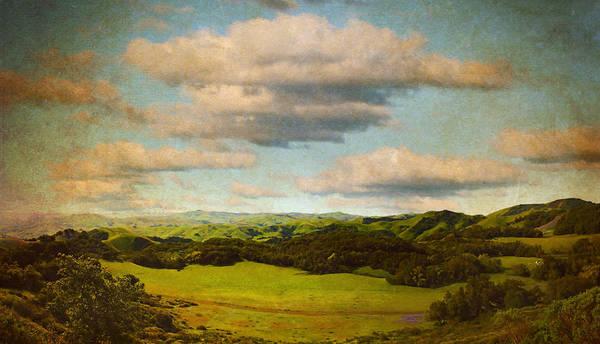 Brett Poster featuring the digital art Perfect Valley by Brett Pfister