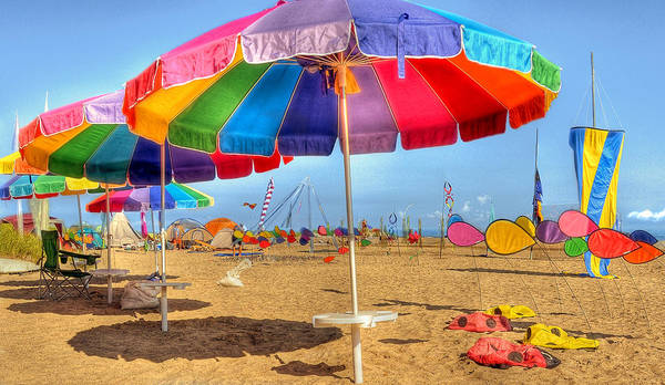 Colorful Poster featuring the photograph Colors Of Summer by Brian Fisher