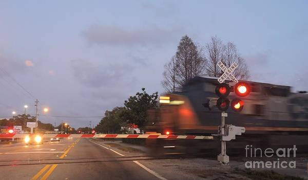 Csx Poster featuring the photograph Railroad Crossing by Beth Williams