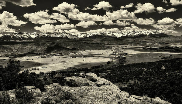 Pleasant Valley Poster featuring the photograph Pleasant Valley Colorado by Mountain Dreams