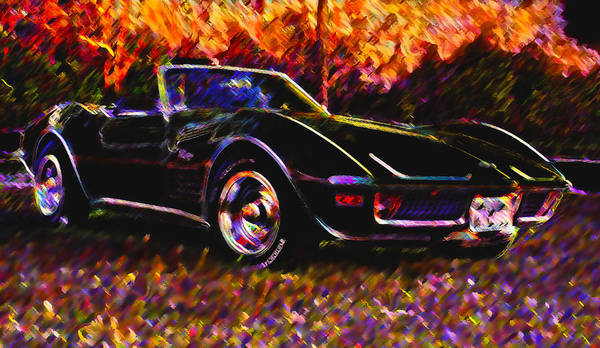 Corvette Poster featuring the photograph Corvette Beauty by Stephen Anderson