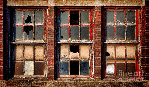 Factory Poster featuring the photograph Decayed by Olivier Le Queinec