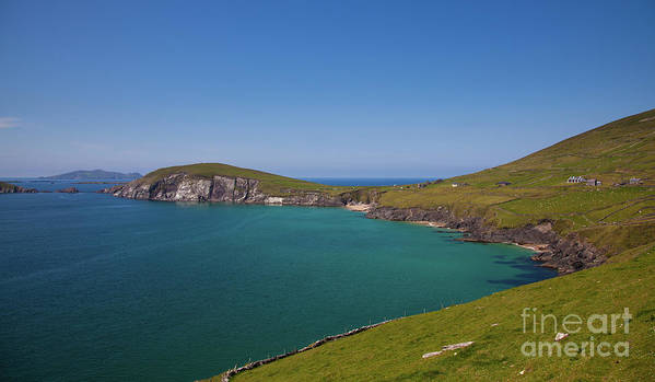 Kerry Coast Poster featuring the photograph Dunmore Head by Gabriela Insuratelu