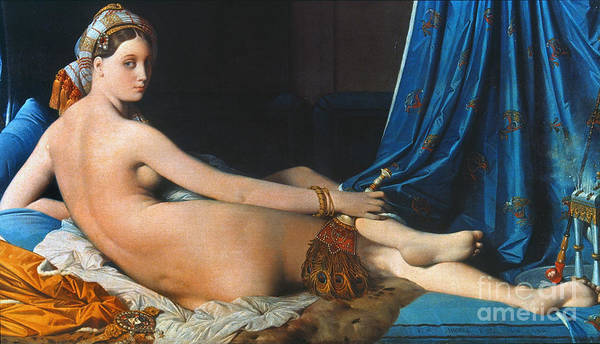 1814 Poster featuring the painting J.a.d. Ingres: Odalisque by Granger