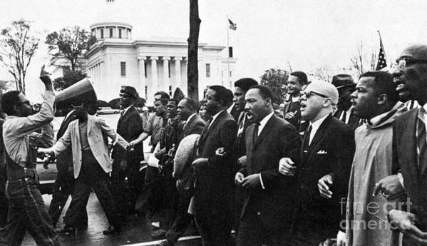 1965 Poster featuring the photograph Martin Luther King, Jr by Granger