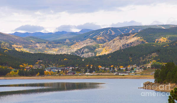 Nederland Poster featuring the photograph Nederland Colorado Scenic Autumn View Boulder County by James BO Insogna