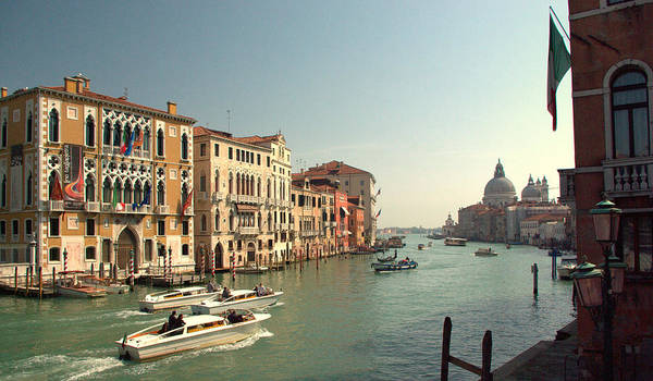 Grand Poster featuring the photograph Venice Grand Canal by Iain MacVinish