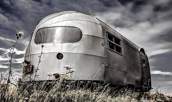 Classic Airstream Caravan Poster featuring the photograph Classic Airstream Caravan by Ian Hufton