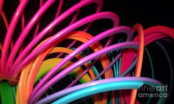 Slinky Poster featuring the photograph Slinky Craze 2 by Paulina Roybal