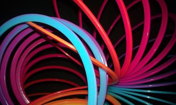 Slinky Poster featuring the photograph Slinky Craze 3 by Paulina Roybal