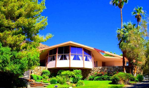 Elvis Poster featuring the photograph Elvis Honeymoon House by Randall Weidner