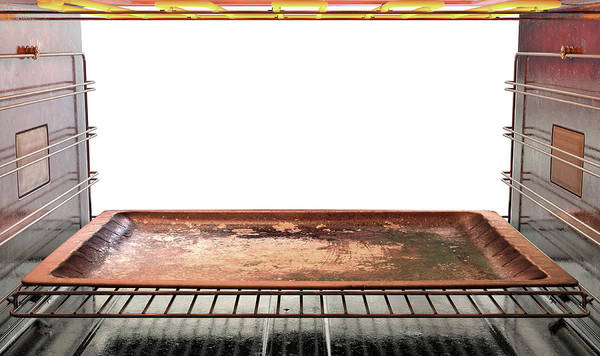 Oven Poster featuring the digital art Inside The Oven by Allan Swart