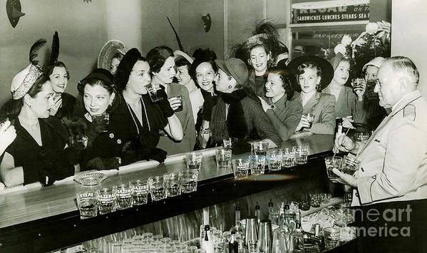 1903 Poster featuring the photograph Girls Night Out by Jon Neidert