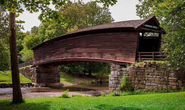 Humpback Bridge Poster featuring the photograph Humpback Bridge by Karen Wiles