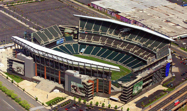 Lincoln Financial Field Poster featuring the photograph Lincoln Financial Field Philadelphia Eagles by Duncan Pearson