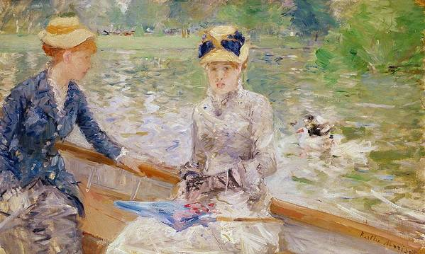 Summer Poster featuring the painting Summers Day by Berthe Morisot