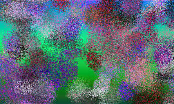Abstract Poster featuring the digital art T.1.1227.77.5x3.5120x3072 by Gareth Lewis