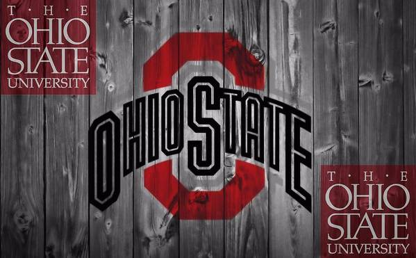 Ohio State University Poster featuring the photograph Ohio State Buckeyes by Dan Sproul