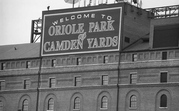 America Poster featuring the photograph Baltimore Orioles Park At Camden Yards by Frank Romeo