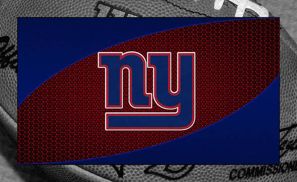 Giants Poster featuring the photograph New York Giants by Joe Hamilton