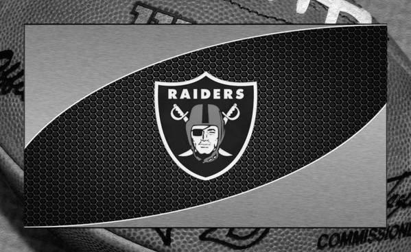 Raiders Poster featuring the photograph Oakland Raiders by Joe Hamilton