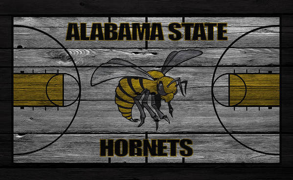 Hornets Poster featuring the photograph Alabama State Hornets by Joe Hamilton