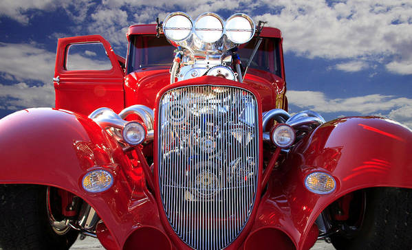 Auto Poster featuring the photograph Classic by Gene Praag
