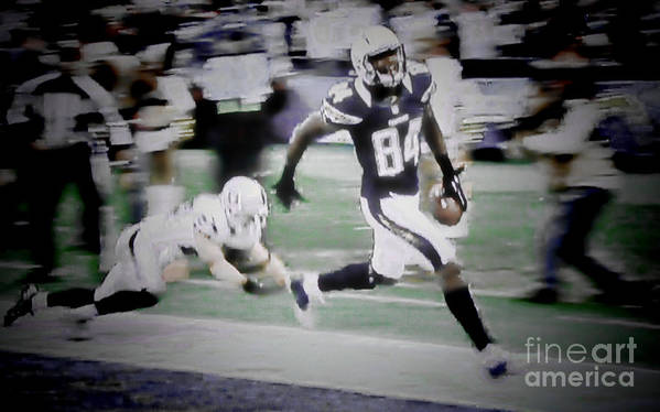 San Diego Chargers Nfl Football Touchdown Wide Receiver Team San Diego Chargers Nfl Football Touchdown Wide Receiver Team San Diego Chargers Nfl Football Touchdown Wide Receiver Team San Diego Chargers Nfl Football Touchdown Wide Receiver Team San Diego Chargers Nfl Football Touchdown Wide Receiver Team San Diego Chargers Nfl Football Touchdown Wide Receiver Team Poster featuring the photograph Danario Alexander - Chargers by RJ Aguilar