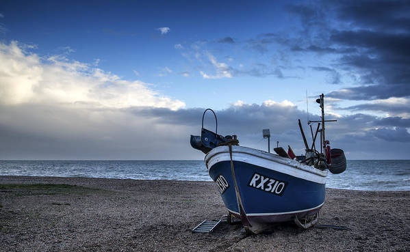 Fishing Boat Poster featuring the photograph Done For The Day by Matthew Gibson