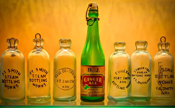 Bottles Poster featuring the photograph Empties by James Barber