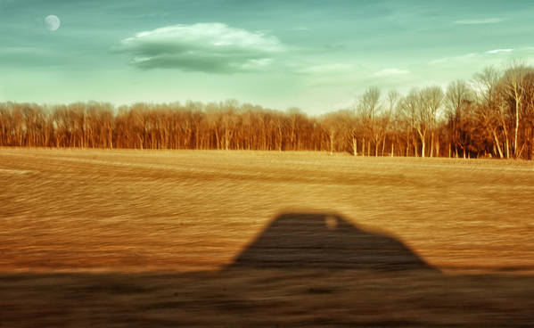 Driving At Sunrise Poster featuring the photograph I've Been Everywhere Man by Steven Michael