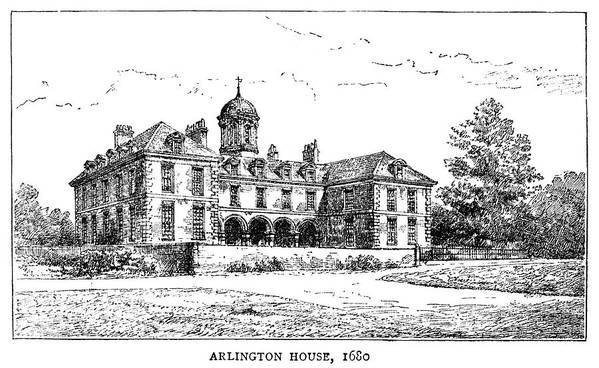 1680 Poster featuring the painting London Arlington House by Granger