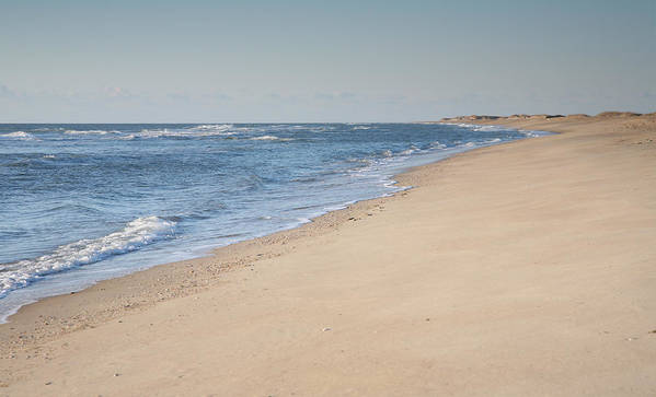 Shore Poster featuring the photograph Ocracoke Beach by Steven Ainsworth