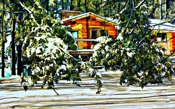 Winter Poster featuring the photograph On A Winter Day by Steve Harrington
