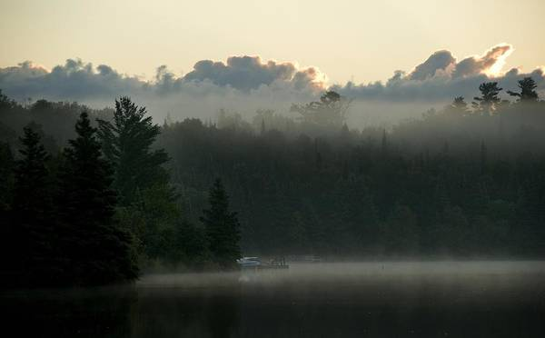 Atmospheric Poster featuring the photograph Lake Of The Woods, Ontario, Canada by Keith Levit