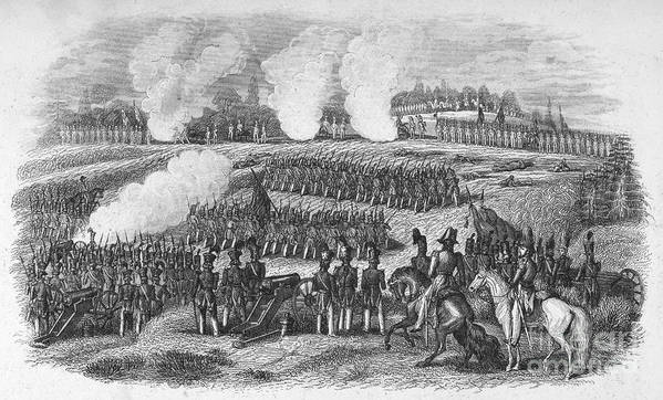1847 Poster featuring the photograph Battle Of Chapultepec by Granger