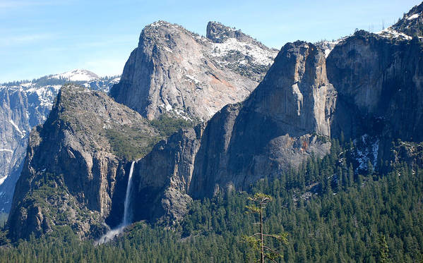 Yosemite National Park Poster featuring the photograph Bridalveil by Eric Tressler