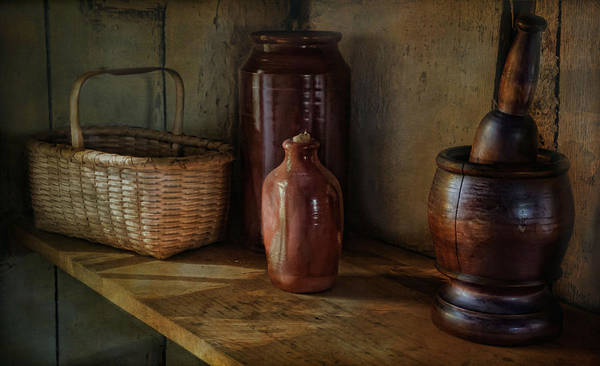 Country Poster featuring the photograph Country Cupboard by Robin-Lee Vieira
