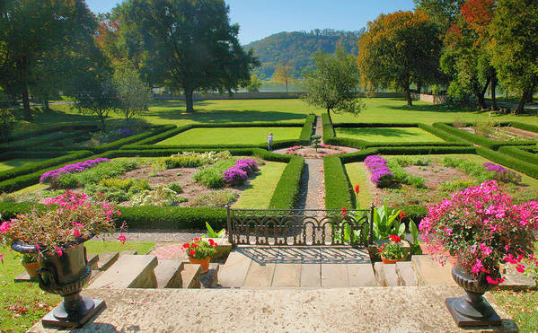 Gardens Poster featuring the photograph Formal Garden I by Steven Ainsworth