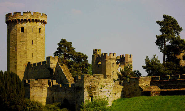 Warwick Poster featuring the photograph Warwick Castle by Ian Flear
