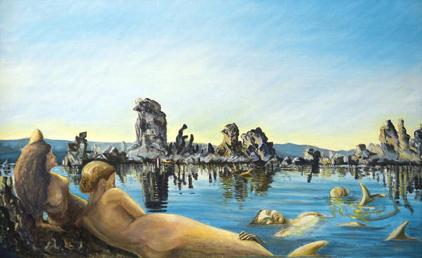 Seascape Poster featuring the painting Anima by Aymeric NOA