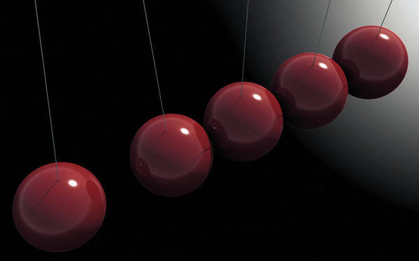 Minimalism Poster featuring the digital art Cherry Red Knockers by Richard Rizzo