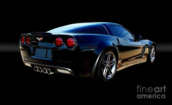 Automotive Poster featuring the photograph Chevrolet Corvette Z06 by Thomas Burtney