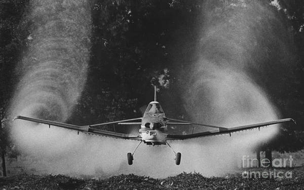 Crop Poster featuring the photograph Crop Duster by Jim Wright