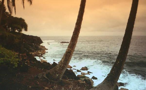 Beach Poster featuring the photograph Day Break On Kauai by Diane Merkle